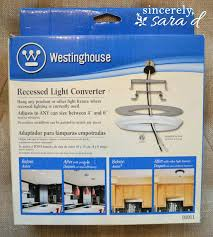 recessed light converters how to transform a recessed light into a chandelier recessed fixture converter