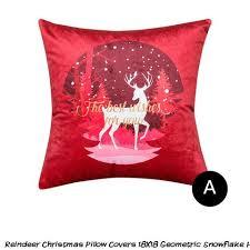 """18x18"""" <b>Santa</b> Claus Cushion Cover Peach Skin Throw Pillow Case ..."""