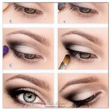 this is the perfect picture tutorial for hooded eyes you can also see from this that there is little to no eyeliner above the eye and the darker colour is