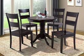 full size of 36 round glass dining table set and chairs inch dinette room in cappuccino