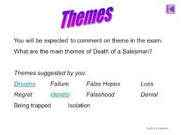 Death of a Salesman Themes doc studylib net