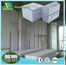 2018 eco friendly lightweight insulated precast eps concrete cement sandwich wall panels board interior