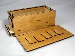wooden lock box designs