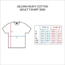 Gildan Heavy Cotton T Shirt Size Chart Nils Stucki