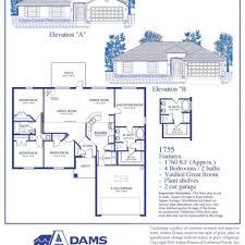 adams homes floor plans. Adams Homes Floor Plans 1755