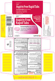 Jr Strength Acetaminophen Dosage Chart Junior Aspirin Free Rapid Tabs By Safeway