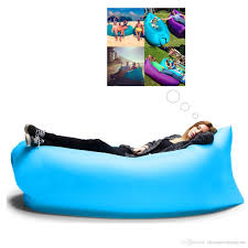 inflatable outdoor furniture. inflatable air bed bag sofa fastu0026portable outdoor beach camping sleeping lounger filled balloon sleep chair for activity picnic floor furniture a