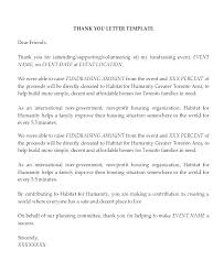 Thank You For Reference Formal Thank You Letter Template Sample Thank You Letter