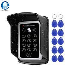 [HOT SALE] Waterproof <b>RFID</b> Access Control Keypad Outdoor ...