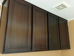 wall color ideas oak: furniture painting wall mounted oak kitchen cabinet with brown color