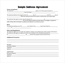 sublease contract template sublease agreement pdf gtld world congress