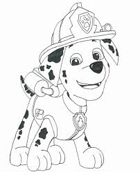 Free Printable Paw Patrol Coloring Pages Luxury Marshall Paw Patrol