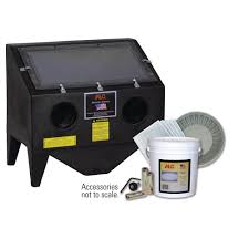 Benchtop Blast Cabinet Alc Bench Top Abrasive Blaster Cabinet With Starter Kit 4039010