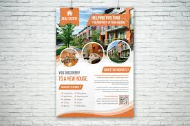 25 real estate flyer psd templates graphic cloud house flyer template