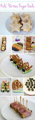 Finger Foods for Kids' Parties