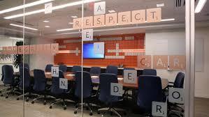 Cool Office Designs Beauteous Columbus Coolest Offices Schneider Downs' New Space Has A Scrabble