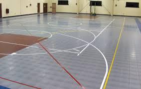 modular gym flooring multi purpose sports flooring tiles interlocking plastic