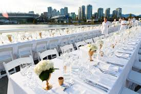 Event Table A B Partytime Rentals Vancouvers Premier Event Rental Company