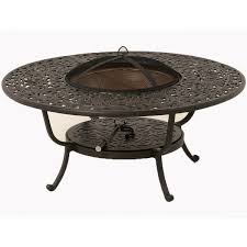 family leisure patio furniture sienna outdoor fire pit by hanamint family leisure home devotee