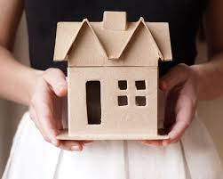 Decorating Boxes With Paper Paper Mache House Shaped Box UDecorate 65
