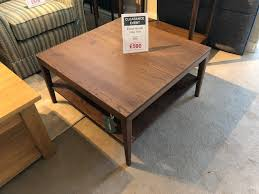 david salmon ercol novoli square coffee table