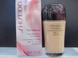 shiseido the makeup dual balancing foundation spf17 i20 natural light ivory 30ml 1oz