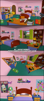 Simpsons Wallpaper For Bedroom The Simpsons Hit And Run Bart Bedroom By Jhonyhebert On Deviantart