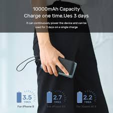 Pin Sạc Dự Phòng TOPK I1013 10000mAh Có Đèn LED Cho Xiaomi Huawei iPhone 12  Samsung - Toplink