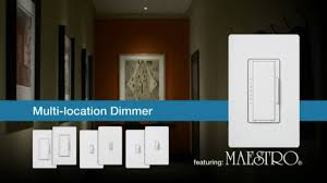 lutron maestro multi location switch westsidewholesale com youtube Lutron Dimmer Wiring Diagram lutron maestro multi location switch westsidewholesale com lutron dimmer wiring diagram 3 way