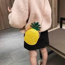 Baby <b>Bag Children</b> Pineapple Design Cross body <b>Handbag Fashion</b> ...