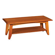 aspen square coffee table with inlay from simply amish furniture