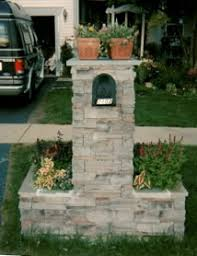 stone mailbox designs. Diy Mailbox Designs | Restoration - Stucco Stone Veneer Masonry Refacing