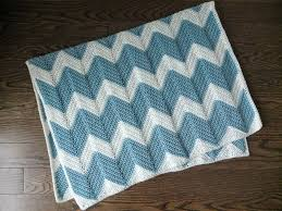Chevron Crochet Blanket Pattern Gorgeous Chevron Crochet Baby Blanket Dear Edna