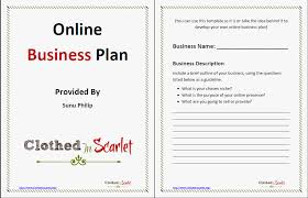 Free Online Business Plan Template 51 Best Of Online Business Plan Template Stock