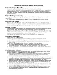 College Prompt Essays Personal College Essay Prompts Applydocoument Co