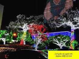 Đèn led quấn cây ngoài trời nhiều màu đẹp chất lượng
