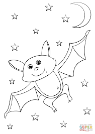 Small Picture Cartoon Bat coloring page Free Printable Coloring Pages