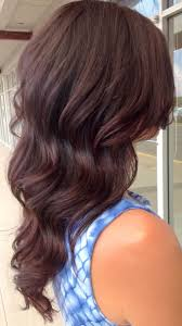 Fashion Shoulder Length Red Hairstyle Exquisite Chocolate Brown