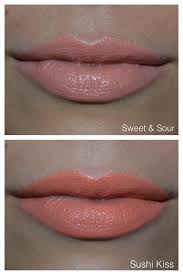 Light Coral Lipstick Mac Mac All About Orange Collection Sweet Sour And Sushi