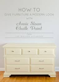 antique white chalk paintHow to Give Old Furniture a Modern Look with Chalk Paint  The