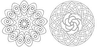 Geometric Designs Coloring Pages Geometric Design Coloring Pages
