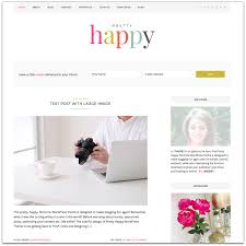 Add a Front Page to the Pretty Happy Theme   One Happy Studio
