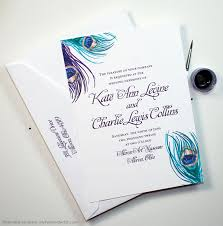 Peacock Invitations Peacock Wedding Invitations Rome Fontanacountryinn Com