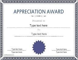 Certificates Of Appreciation Certificate Appreciation Template Thirdbattalion Info