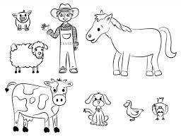 They are larger than deer and inhabit mountainous forest regions. Free Printable Domestic Animals Coloring Pages With Farm Colouring Print Cow Tures Realistic For Pictures To Donkey Toddlers Head Oguchionyewu