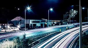 Street Lighting Design Led Street Light Replaces Traditional Street Light Project