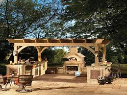 outdoor wood burning fireplace kits jen joes design