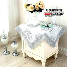 small tablecloth