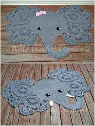 Elephant Rug Crochet Pattern Cool Adorable Josefina And Jeffery Elephant Rug Crochet Pattern The WHOot