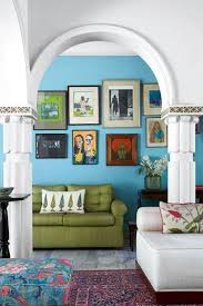 blue living room ideas blue paint